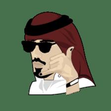 Arab Guys sticker #14101993