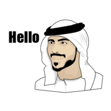 Arab Guys sticker #14101995