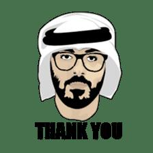 Arab Guys sticker #14102000