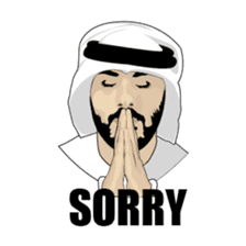 Arab Guys sticker #14102002