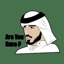 Arab Guys sticker #14102003