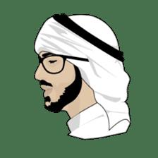 Arab Guys sticker #14102005
