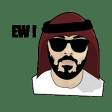 Arab Guys sticker #14102013