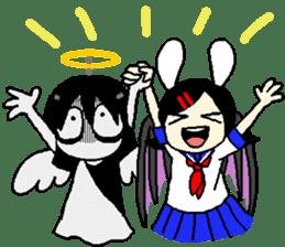 Glum angels & Bright devil sticker #14104046