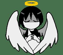 Glum angels & Bright devil sticker #14104056