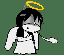 Glum angels & Bright devil sticker #14104062