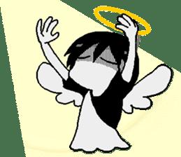 Glum angels & Bright devil sticker #14104066