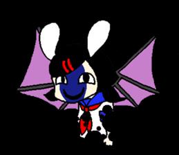 Glum angels & Bright devil sticker #14104069