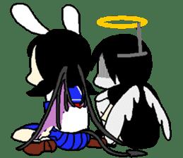 Glum angels & Bright devil sticker #14104070