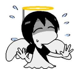 Glum angels & Bright devil sticker #14104076