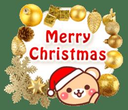 Honorific Bear 's Christmas & New Year 2 sticker #14120282
