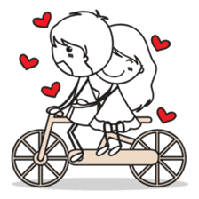 Sweet Love Couple sticker #14123927