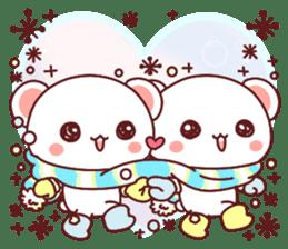 Fluffy Bear most Lovely 40set sticker #14128068