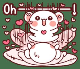 Fluffy Bear most Lovely 40set sticker #14128070