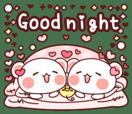 Fluffy Bear most Lovely 40set sticker #14128072