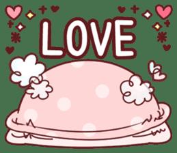 Fluffy Bear most Lovely 40set sticker #14128073