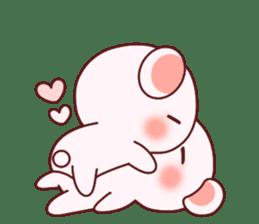 Fluffy Bear most Lovely 40set sticker #14128075