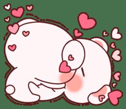 Fluffy Bear most Lovely 40set sticker #14128076