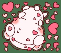Fluffy Bear most Lovely 40set sticker #14128077