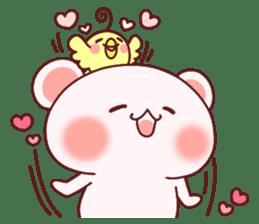 Fluffy Bear most Lovely 40set sticker #14128082