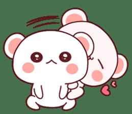 Fluffy Bear most Lovely 40set sticker #14128083