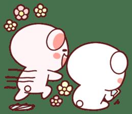 Fluffy Bear most Lovely 40set sticker #14128087