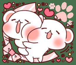 Fluffy Bear most Lovely 40set sticker #14128090
