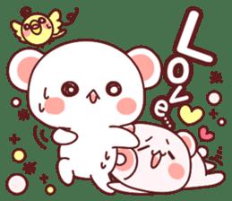 Fluffy Bear most Lovely 40set sticker #14128092