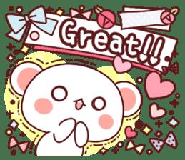 Fluffy Bear most Lovely 40set sticker #14128096