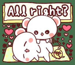 Fluffy Bear most Lovely 40set sticker #14128097