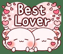 Fluffy Bear most Lovely 40set sticker #14128101