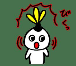 Hakkyu-chan Recreation Indiaca sticker #14129624