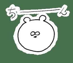 Lovely dull bear sticker #14130087