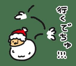 HELLO POCOchan! the first winter sticker #14130241