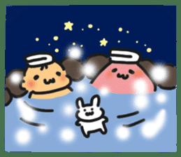 HELLO POCOchan! the first winter sticker #14130254