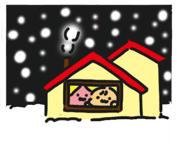 HELLO POCOchan! the first winter sticker #14130255