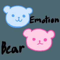 สติ๊กเกอร์ไลน์ Emotion bears