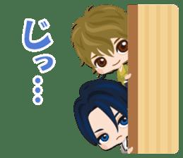 Tenka Touitsu Koi no Ran ~Love Ballad~ sticker #14139231