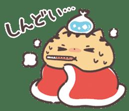 Kansaiben Naynko Christmas & New Year! sticker #14155078