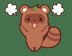 Tanuki & Fox animated sticker #14155942