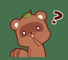 Tanuki & Fox animated sticker #14155948