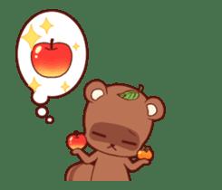 Tanuki & Fox animated sticker #14155952