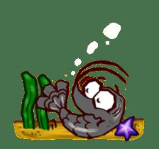 "Animated shrimp ""Bori"" Stickers sticker #14158801"