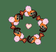 "Animated shrimp ""Bori"" Stickers sticker #14158816"