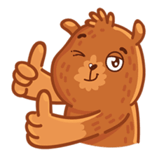 Andy Bear sticker #14158923