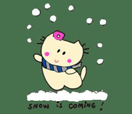 Dinkyneko & Friends #8 _Winter X'mas HNY sticker #14158936
