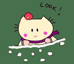 Dinkyneko & Friends #8 _Winter X'mas HNY sticker #14158937
