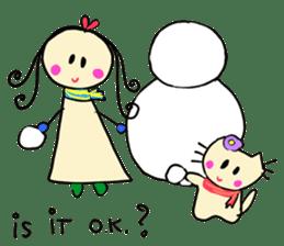 Dinkyneko & Friends #8 _Winter X'mas HNY sticker #14158940