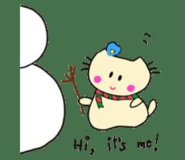 Dinkyneko & Friends #8 _Winter X'mas HNY sticker #14158941