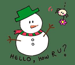 Dinkyneko & Friends #8 _Winter X'mas HNY sticker #14158943